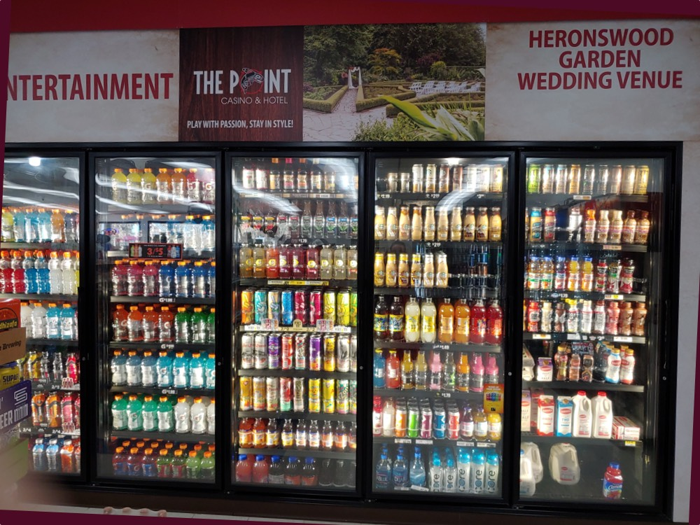 drink cooler - store photos