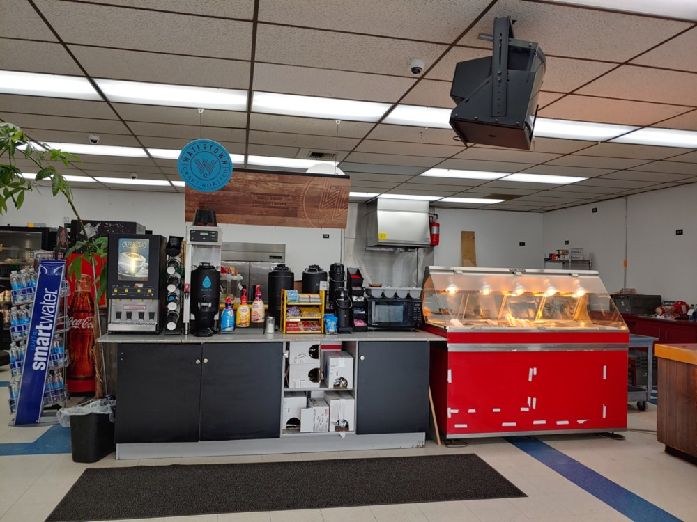 hot food and coffee - store photos