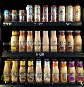 Kountry Korner specials - Starbucks drinks