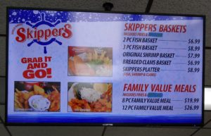 Basket Menu